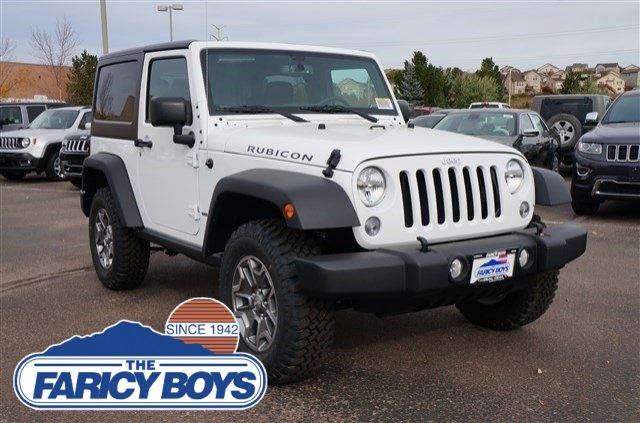new 2016 jeep wrangler rubicon 2d sport utility in colorado springs gl111099 the faricy boys. Black Bedroom Furniture Sets. Home Design Ideas